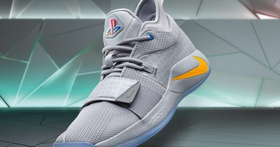 72278bd5160e Here Comes Another Nike PlayStation Basketball Shoes  Now Featuring The  Original Grey Colorway