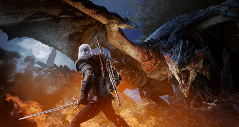 The Witcher's Geralt Will Be Hunting in Monster Hunter