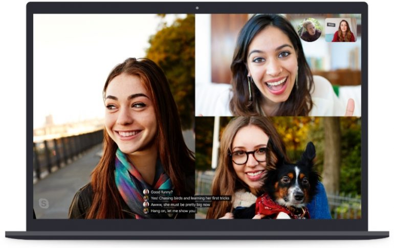 Skype adds live captions in video calls