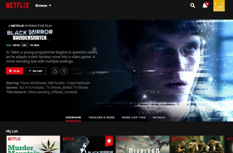 Netflix Interaktive Filme