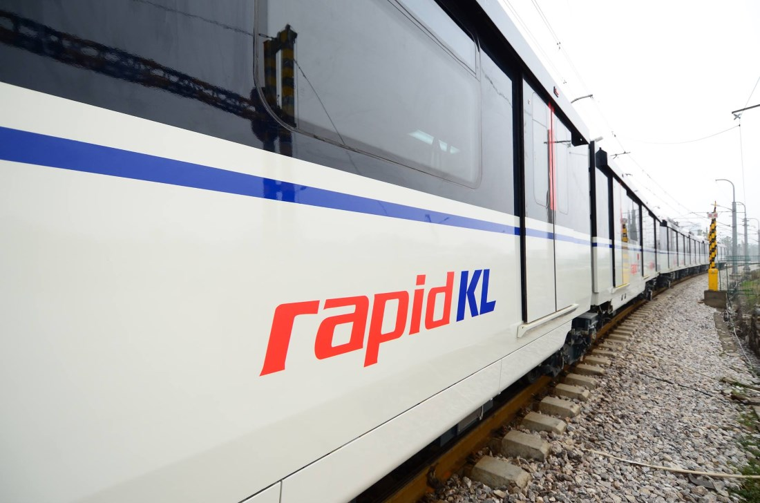 Rapid KL Train public transport