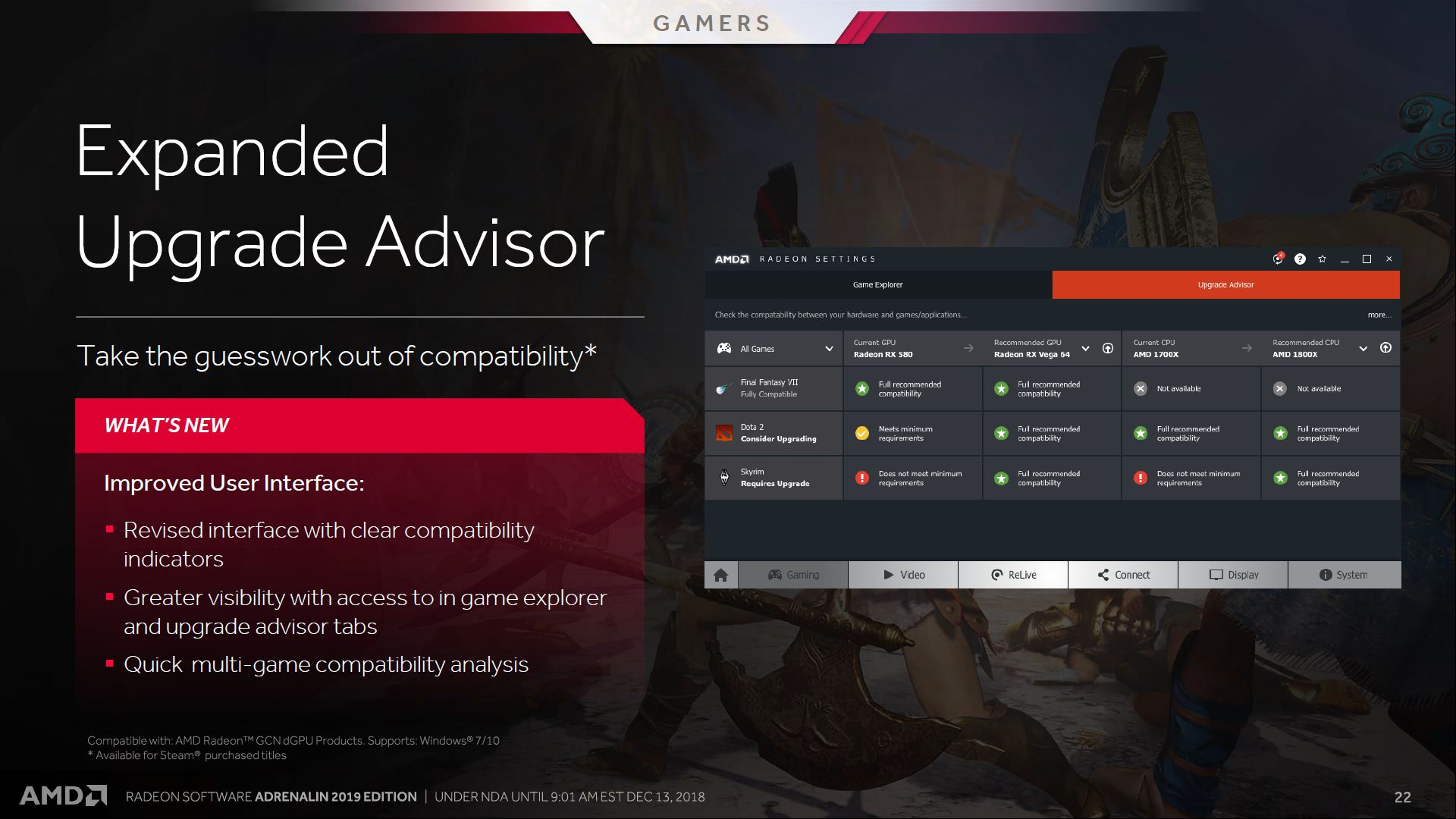 AMD Radeon Software Adrenalin 2019 Edition: Of Improved Overlays And