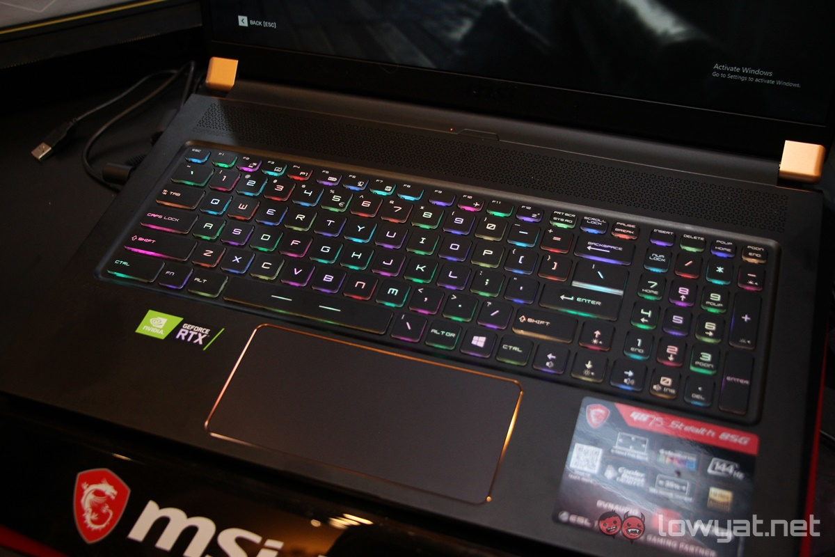 MSI GS75 Stealth Hands-On: Not Just A Bigger Version Of The GS65