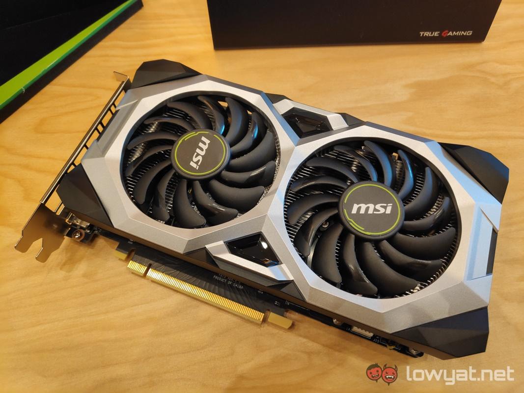 MSI Showcases GeForce RTX 2060 Gaming Z And RTX 2060 Ventus