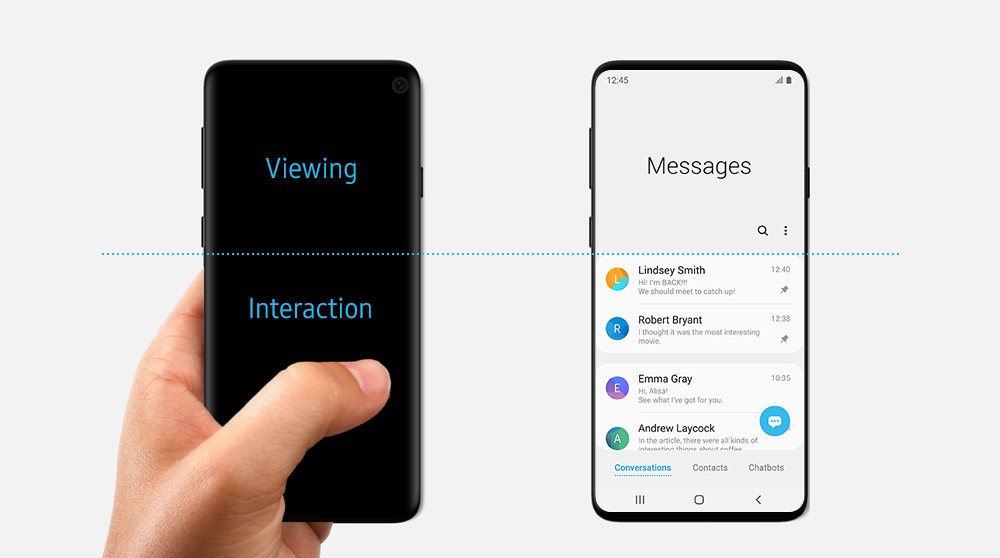 Samsung Accidentally Leaks Galaxy S10 Design In One Ui Blog Post