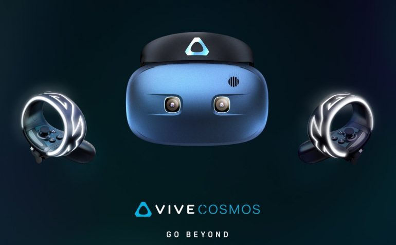 HTC teases wireless 'Vive Cosmos' VR headset at CES 2019