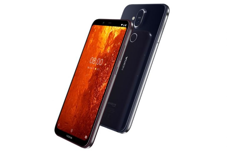 Nokia 8.1 Plus renders show a punch-hole screen
