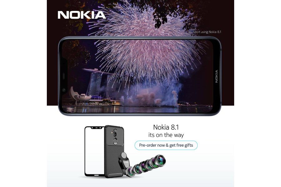 Nokia 8.1 plus render shows the awesome design