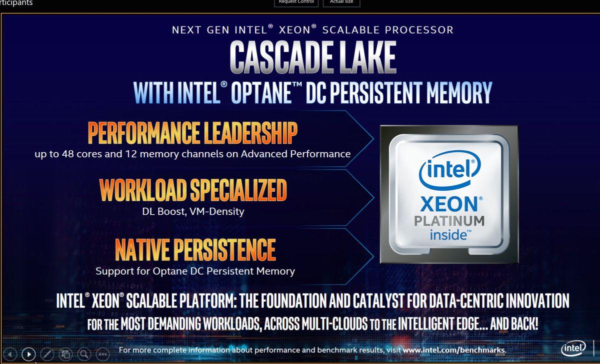 Intel Announces Cascade Lake Advanced Performance - Nnvewga