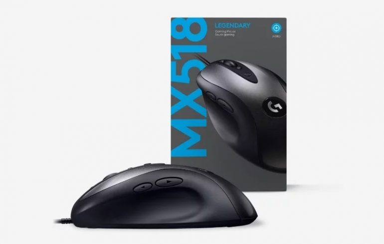 Logitech Revives The MX518; Refreshes Mouse With Modern Internals