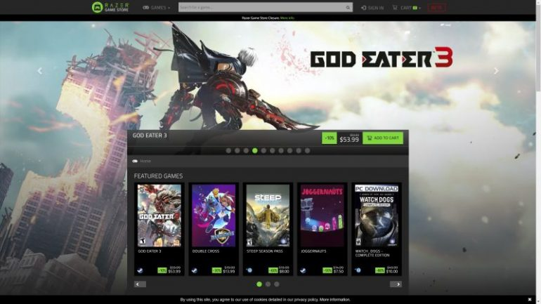 Razer Game Store ceases online operations as part of 'realignment plans'