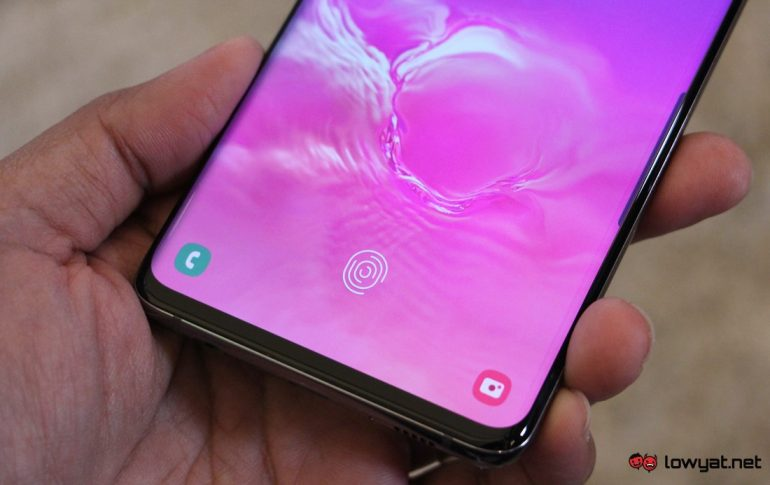 3D-printed fingerprint able to fool the Galaxy S10's sensor