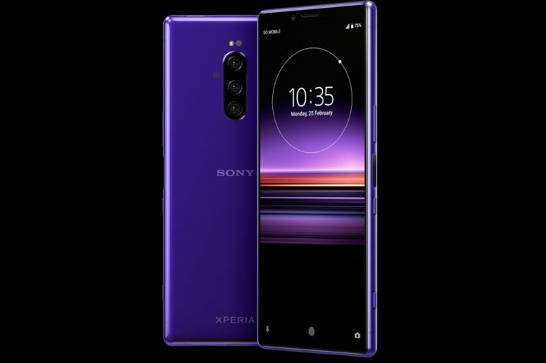 Flagship Sony Xperia 1 (XZ4) leaks: three cameras, big display, purple model