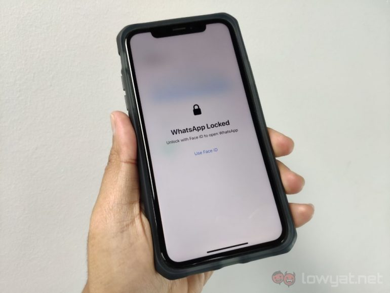 WhatsApp for iOS enables Face ID, Touch ID for iPhone