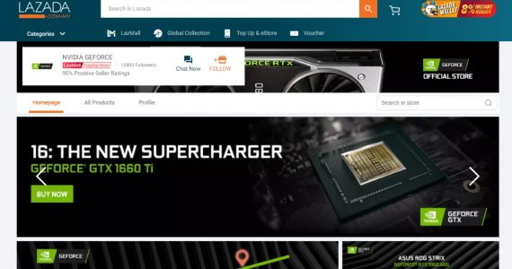 GeForce GTX 1660 Ti Now Available On NVIDIA Malaysia Online Store For RM 1249 Onwards