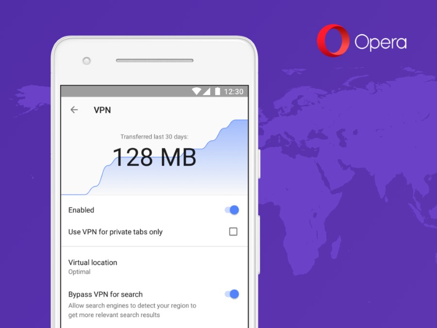 Opera announces new free VPN in beta browser