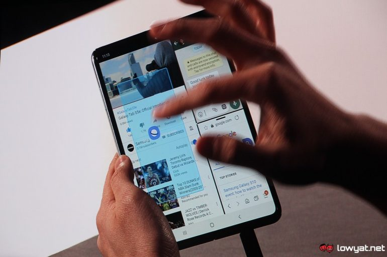 Samsung Can't Confirm Galaxy Fold Ship Date