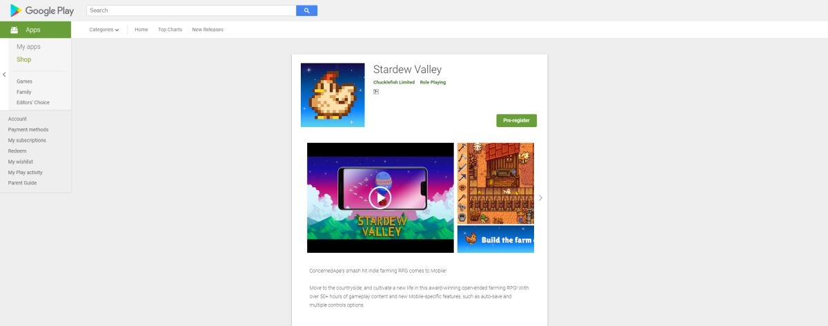Stardew Valley Coming To Android OS Soon