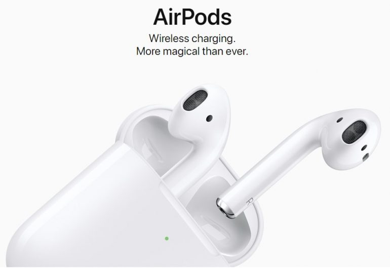 Apple AirPods 2 launched with longer battery life, wireless charging case