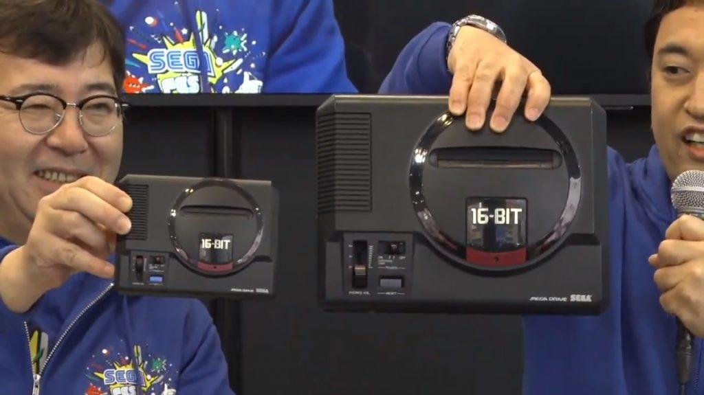 Sega Mega Drive Mini comparison