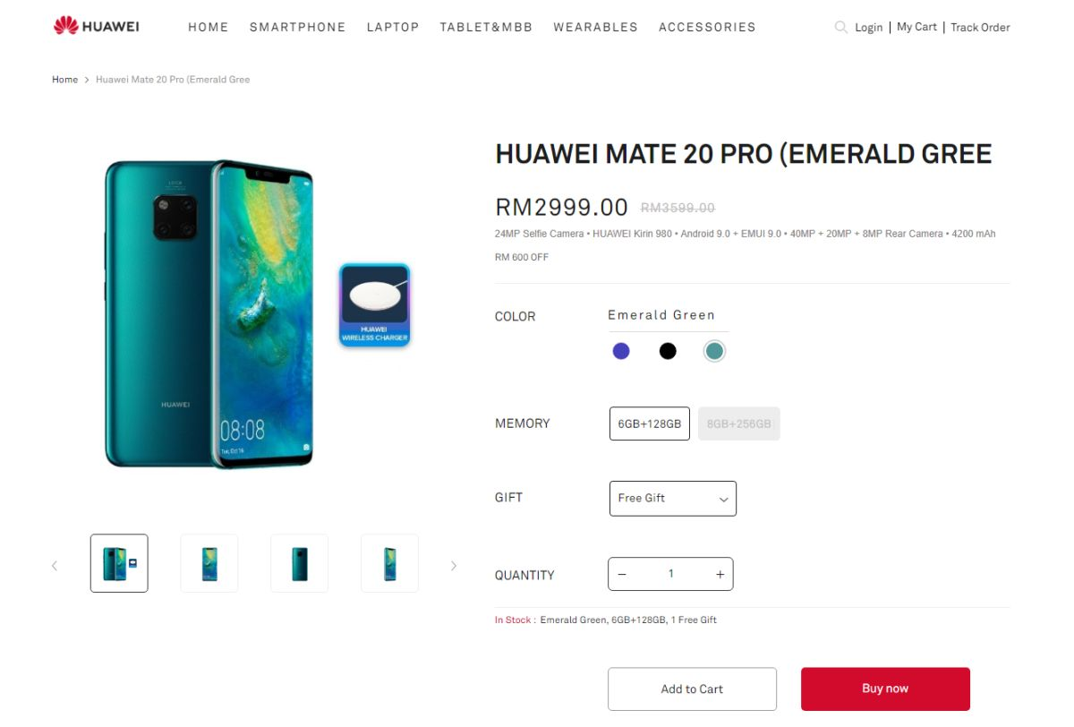 Huawei P30 has a special feature you wouldn't want to use