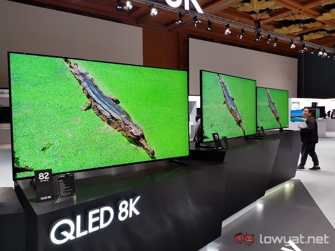 Samsung Brings More 8K QLED TV into Malaysia