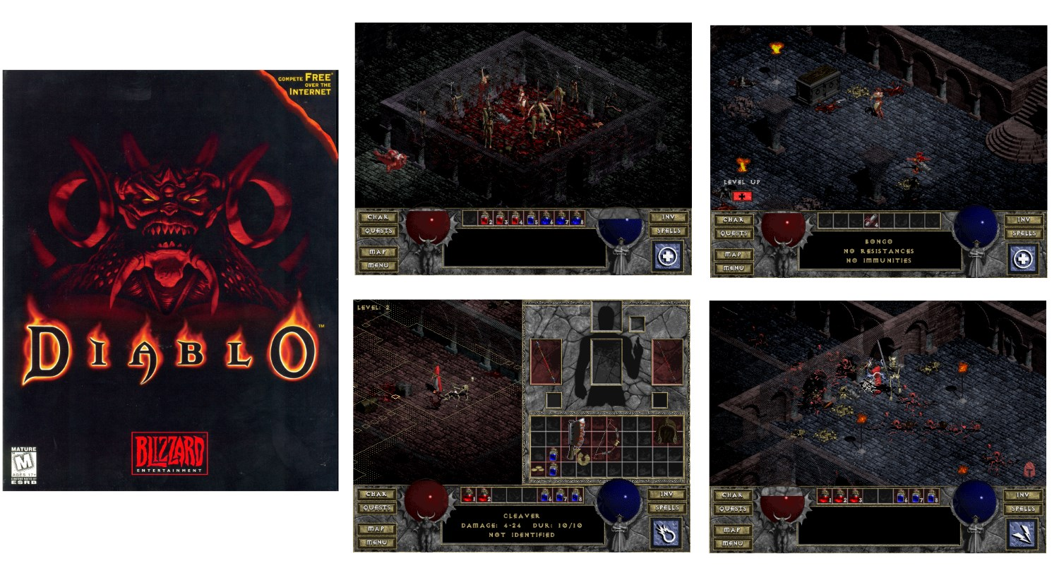 GOG resurrects the original Diablo with HD resolution support