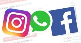 social media facebook whatsapp instagram