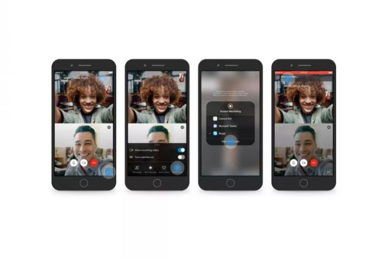 Skype is giving users ability to share phone screen on video calls