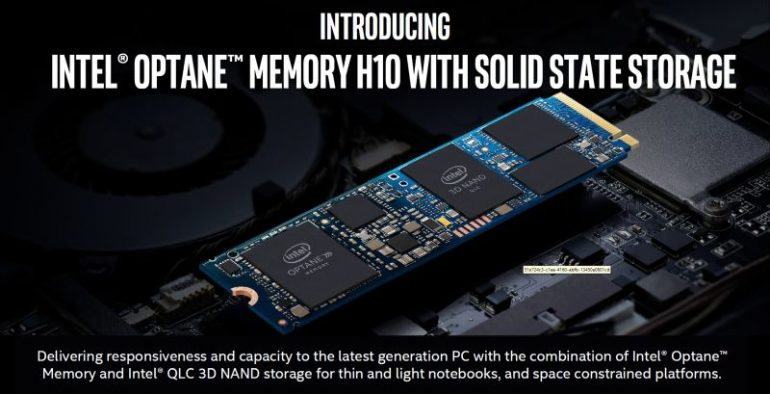 Intel is now injecting Optane memory directly on SSDs for faster performance