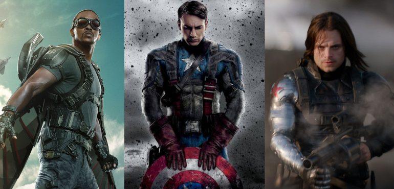 Captain America Endgame Anthony Mackie