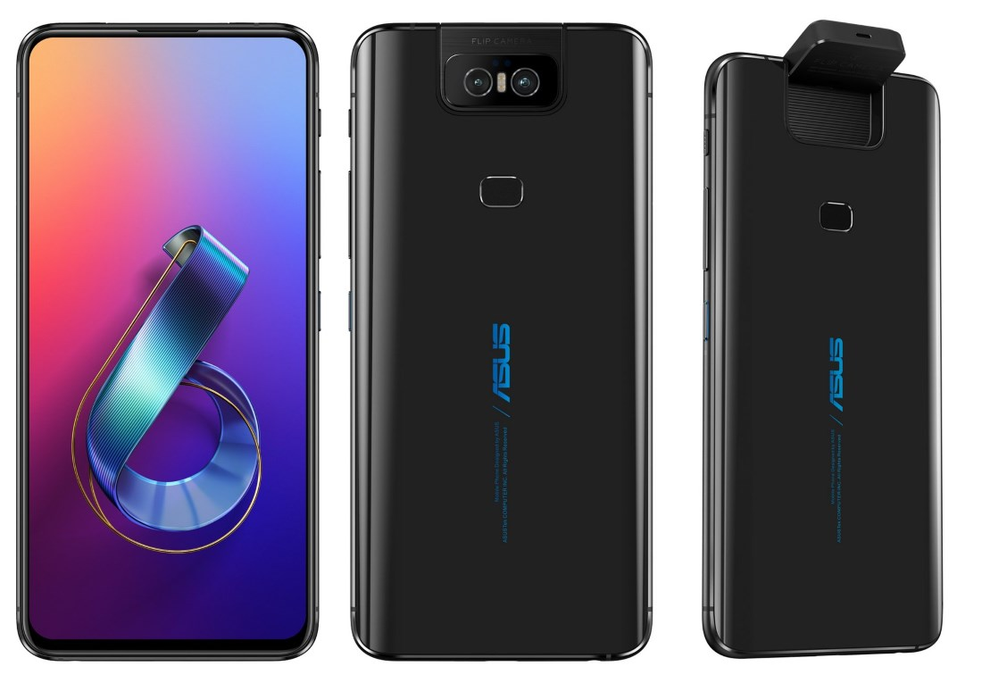 Asus Zenfone 6 Innovates With Motorised Flip Camera