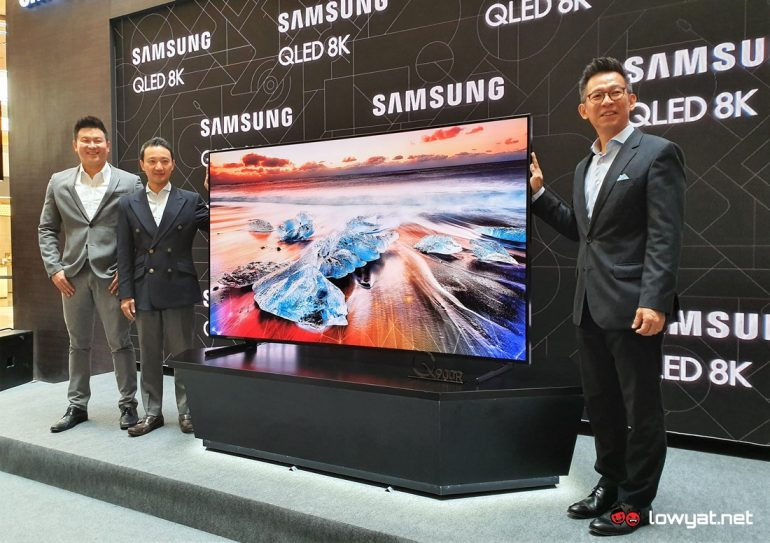 Samsung Launches 2019 8K and 4K QLED TV Lineup in Malaysia: Price