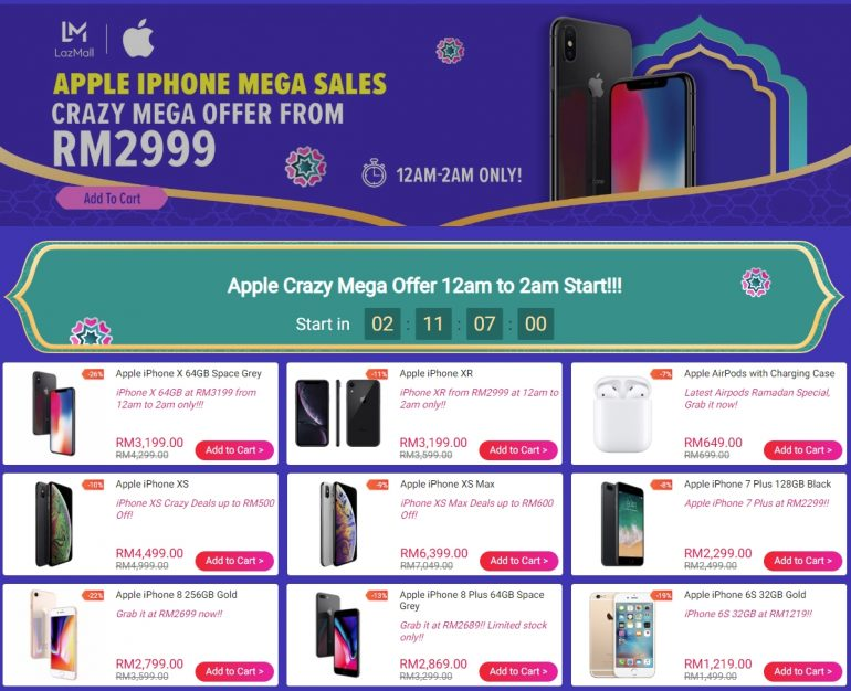 buy online fc85a 6c986 Lazada Offering iPhone XR For As Low As RM 2,999 this Raya | Lowyat.NET