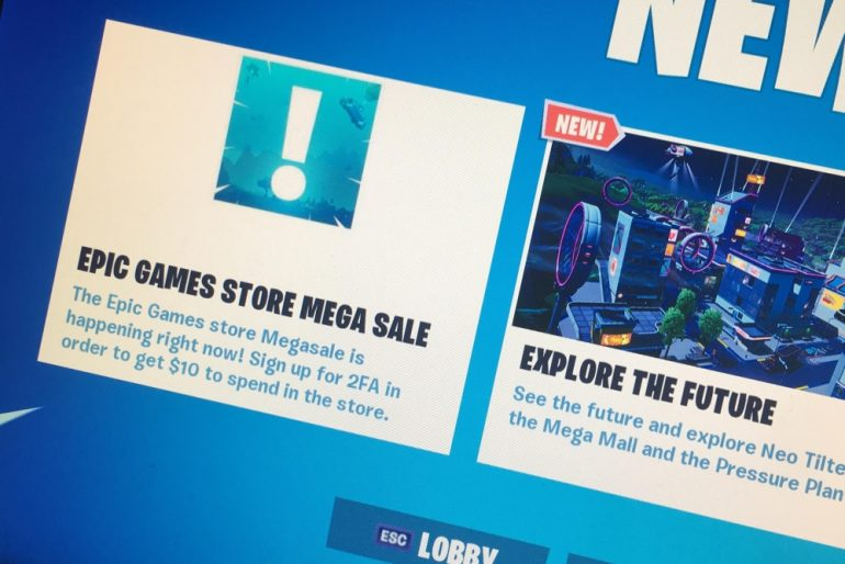 Epic Mega Sale kicks off on Epic Games Store