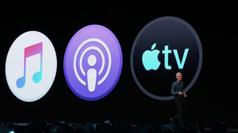 Apple Music Podcast TV