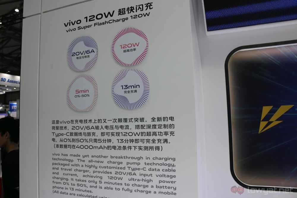 MWC Shanghai 2019: Vivo shows off AR Glass and FlashCharge 120W
