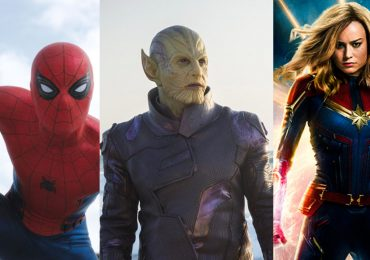 MCU Spider-Man: Far From Home Captain Marvel Skrull