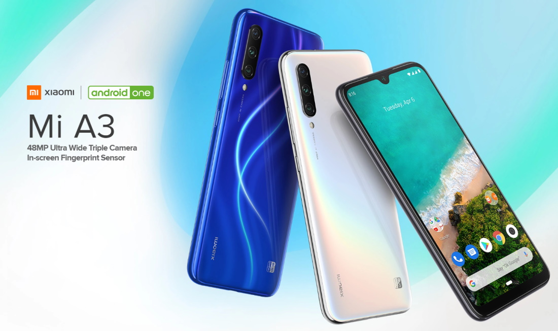 Xiaomi Mi A3 Launches With Stunning Design And 3.5-mm Headphone Jack