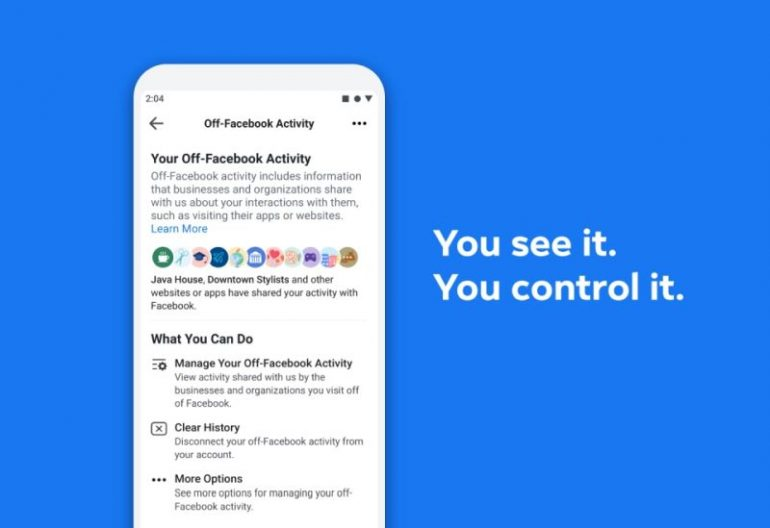 Facebook Gives Privacy-Minded Users Some Control Over Activity Tracking