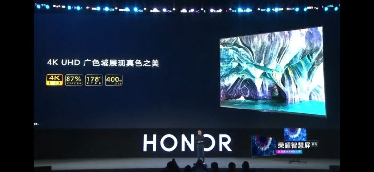 HONOR Vision Is The Company's First Smart TV