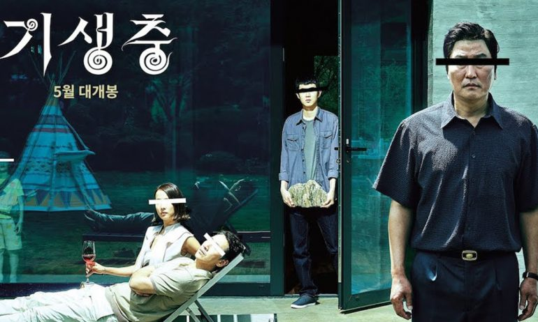 Parasite directed by Bong Joon-Ho