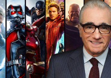 MCU Marvel Cinematic Universe Martin Scorsese