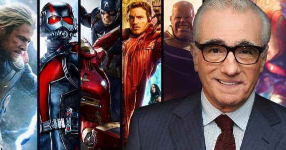MCU Marvel Cinematic Universe Martin Scorsese