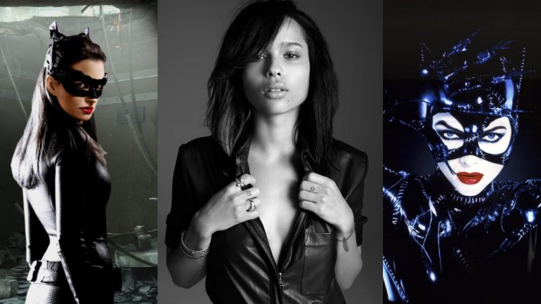 CATWOMAN Cast for THE BATMAN Movie