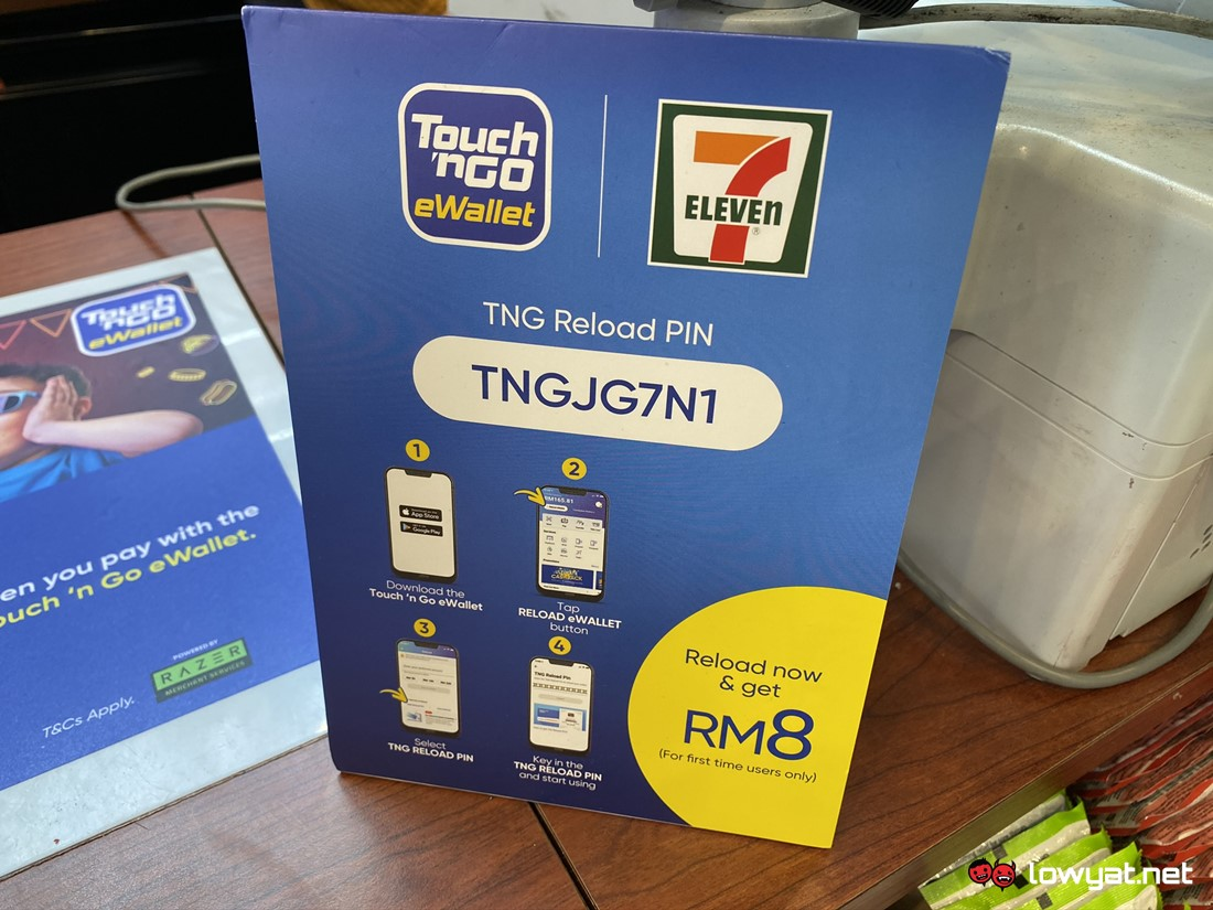 7 Eleven Outlets Throughout Malaysia Now Supports Touch N Go Ewallet Lowyat Net