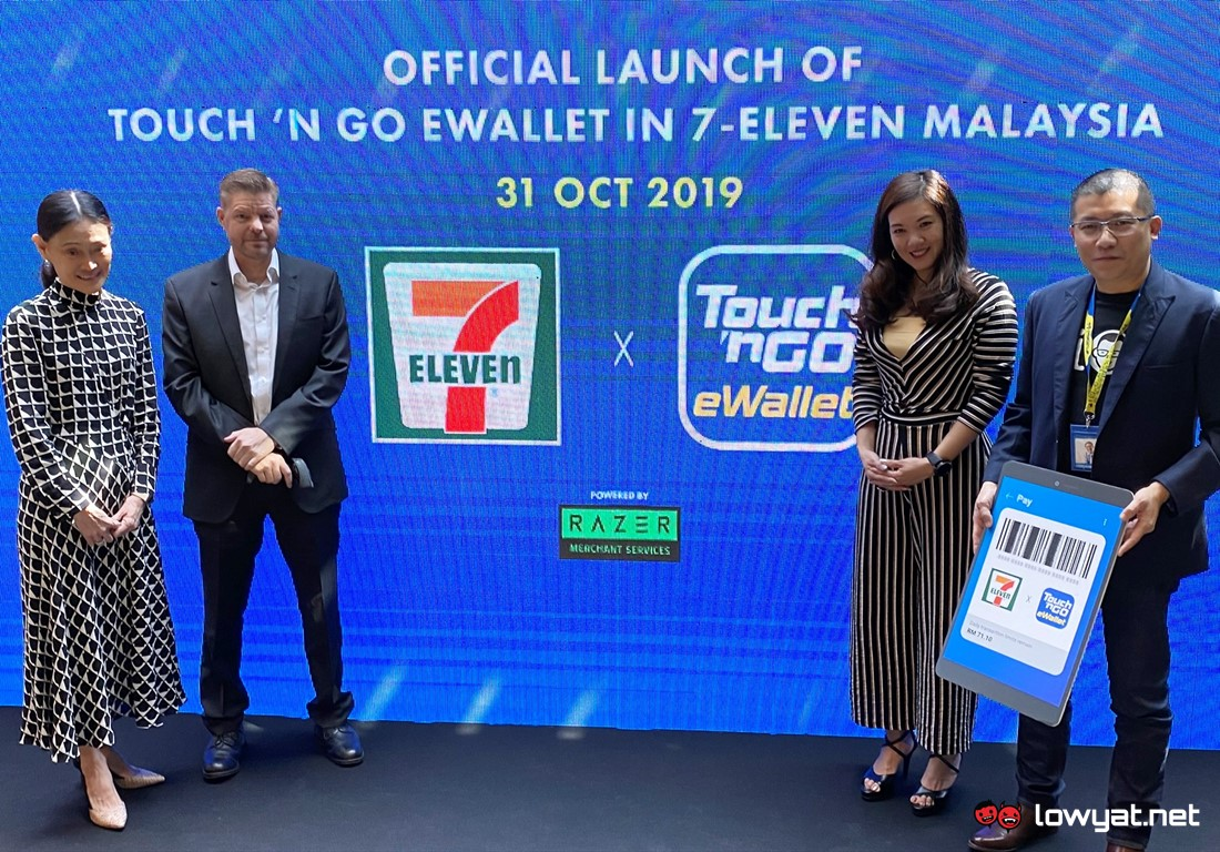 7-Eleven Outlets Throughout Malaysia Now Supports Touch 'n Go eWallet