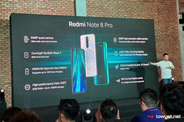 Xiaomi Redmi Note 8 And Note 8 Pro Now Official In Malaysia Price Starts From Rm 599 Lowyat Net
