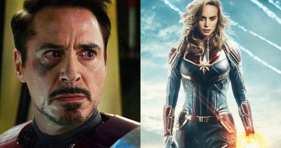 Avengers: Endgame Robert Downey Jr Brie Larson