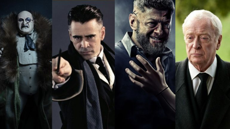 Colin Farrell Andy Serkis The Batman